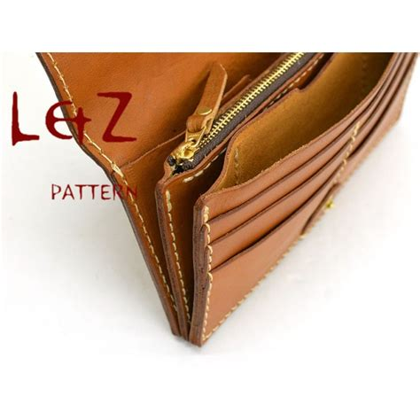 pattern for long leather wallet bag pattern long wallet patterns pdf ccd 33 leathercraft