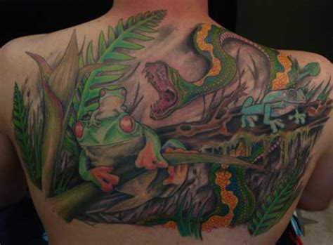 tattoo ideas jungle jungle scene by anthony lawton tattoonow