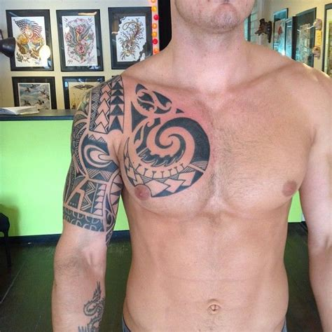 best tribal chest tattoos 33 best tats images on