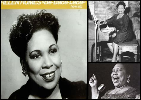 best swing singers video helen humes noted as one of the best jazz singers