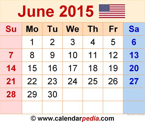 june 2015 calendar printable calendars