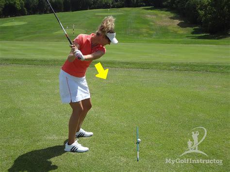 golf swing problems elbow plane in the swing swing plane
