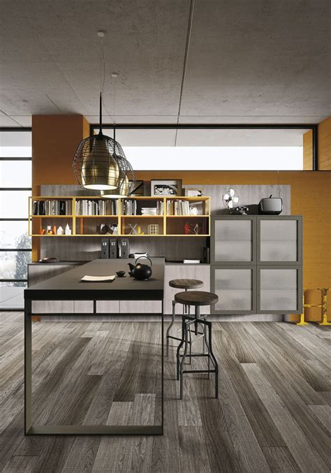 loft kitchen ideas industrial loft kitchen with light wood in design digsdigs