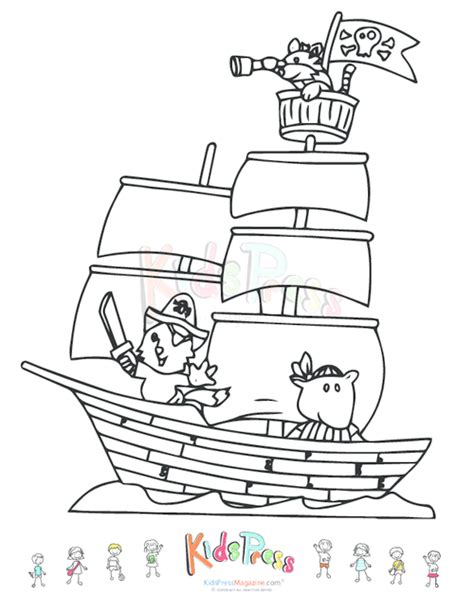 ships coloring pages printable free coloring pages of pirate play