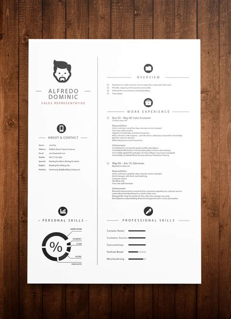 cv resume design template top 3 resume templates in december 2014