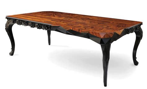 Handcrafted Table - handcrafted tables to entertain scottsdale living magazine
