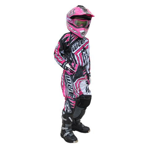 child motocross gear wulf wsx 4 cub childrens mx atv trials motocross bike
