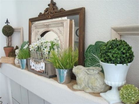 Easter Mantel Decorations by Source