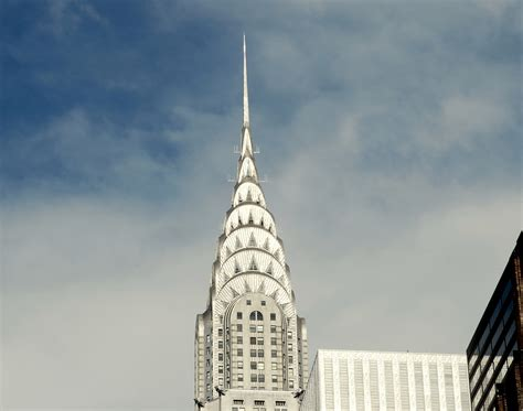 Chrysler Building Top by Top Of The Chrysler Building The Chrysler Building Is An