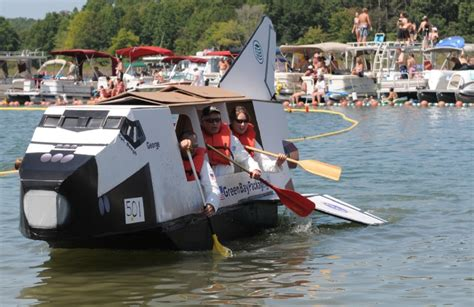 cardboard boat race fails the weirdest festivals in the good ol us of a pillow