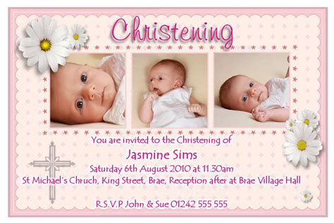 baby card template photoshop baptism invitation template baptism invitation template