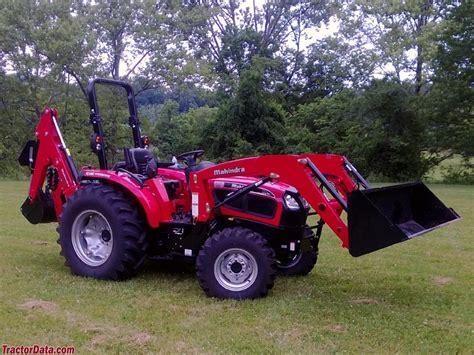 mahindra tractor loader tractordata mahindra 4035 tractor photos information