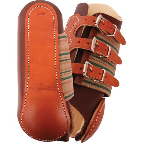 shop classic equine leather splint boots