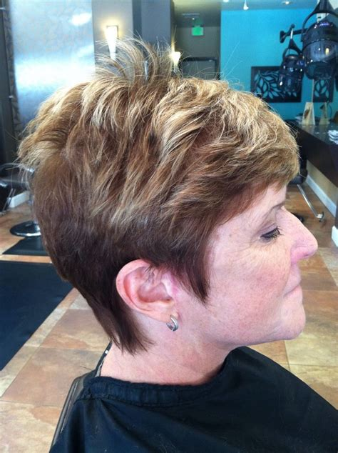 Highlight A Pixie Cut | partial highlight and pixie cut hair pinterest