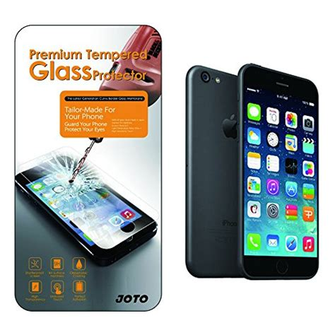 Tempered Glass Iphone 6 Plus 55inch 1 iphone 6s plus 6 plus tempered glass screen protector joto 0 33 mm rounded edge glass screen