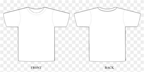 Design T Shirt Template Photoshop Shirt Template For Photoshop Free Transparent Png Clipart T Shirt Design Template Free