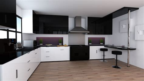 model kitchens kitchen 3d model kitchen cabinets appliances 3d cgtrader captivating design ideas