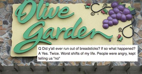 date with olive garden manager goes on date with former manager of olive garden and posts breadstick intel to
