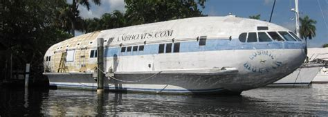 small boat plane incredible converted airplane homes the flight blog