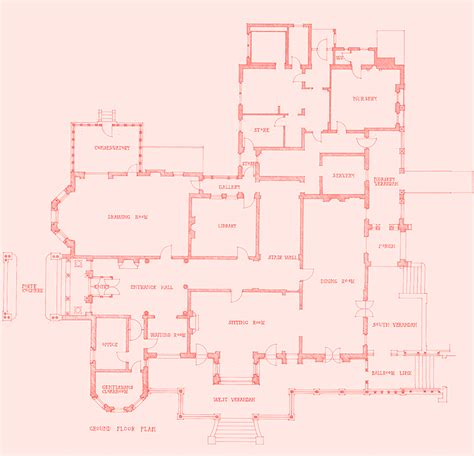 First Floor Master Bedroom House Plans The Mansion Rippon Lea Estate