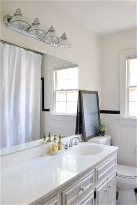 young house love bathroom replacing an old bathroom light young house love
