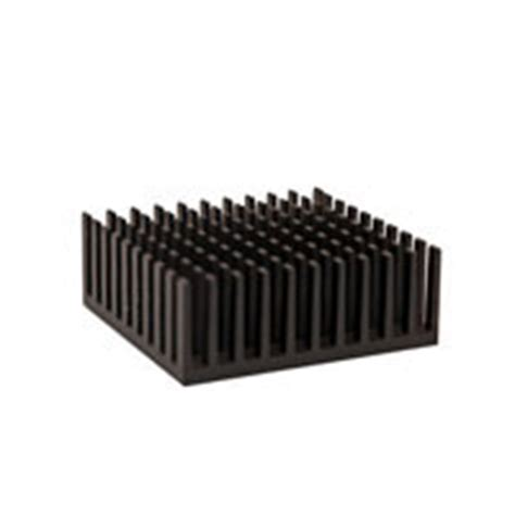 pin fin heat sink ats010010018 pf 1q 10 0 x 10 0 x 18 0 mm bga heat sink