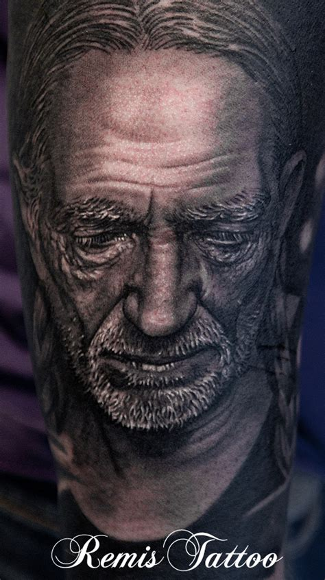 black and grey portrait tattoo techniques remis cizauskas certified artist