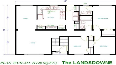 Small Home Floor Plans 1000 Sq Ft 1000 Sq Ft Ranch Plans House Plans 1000 Sq Ft Small