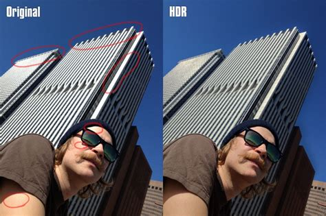 tutorial edit foto hdr iphone iphone hdr for greater detail in photos 3rd eye media