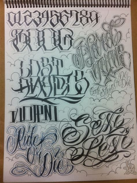 xtasys tattoo font write to live big sleeps x boog x norm awr flash book