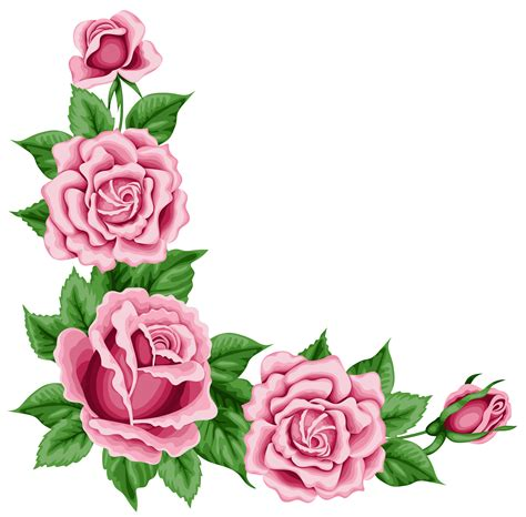 Frame Fotobingkai Fotofigura 16r Black roses corner decoration png clipart picture gallery yopriceville high quality images and