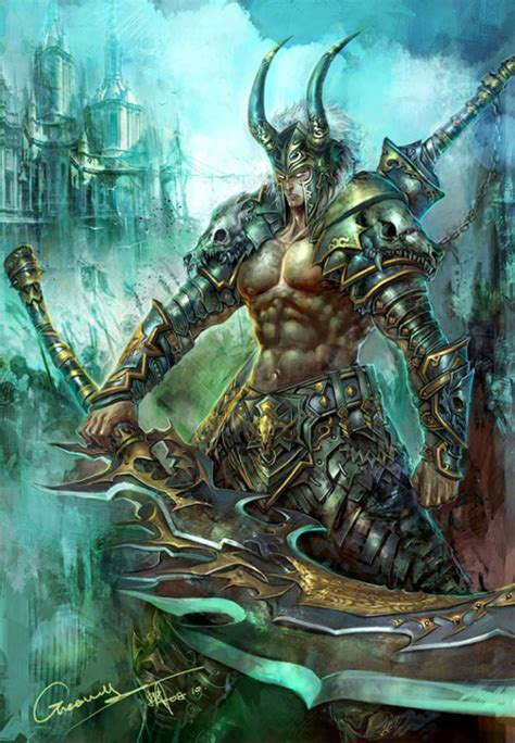 45 superb examples of warrior and battle art noupe