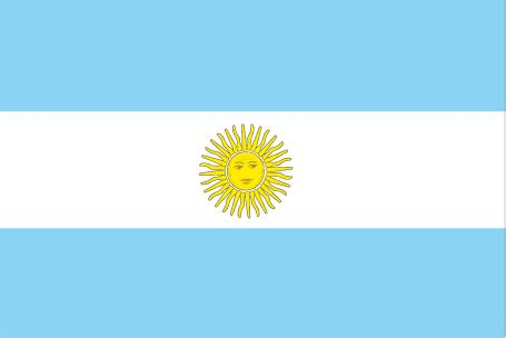 flags of the world yellow sun argentina flag