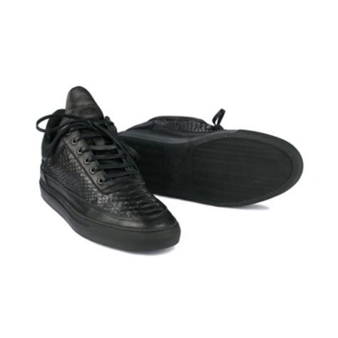 shoes black black shoes leather fashion sneakers all