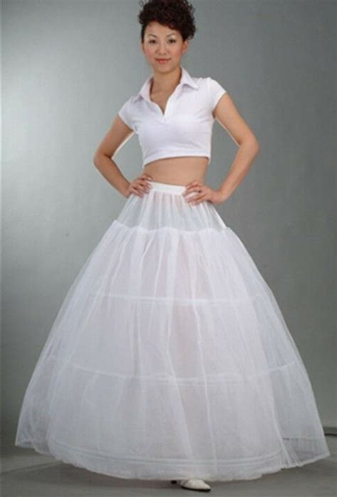 3 HOOP 1 Layer BRIDAL WEDDING DRESS BALL GOWN PETTICOAT