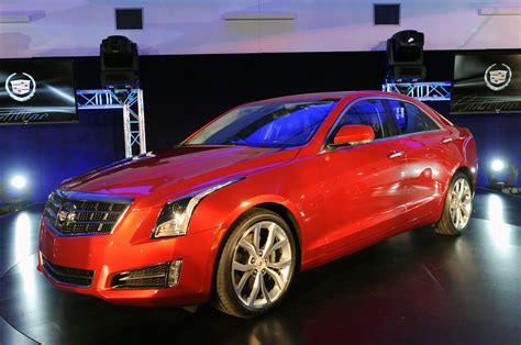 2012 Cadillac Ats by 2013 Cadillac Ats Debuts In Detroit Diesel Engine