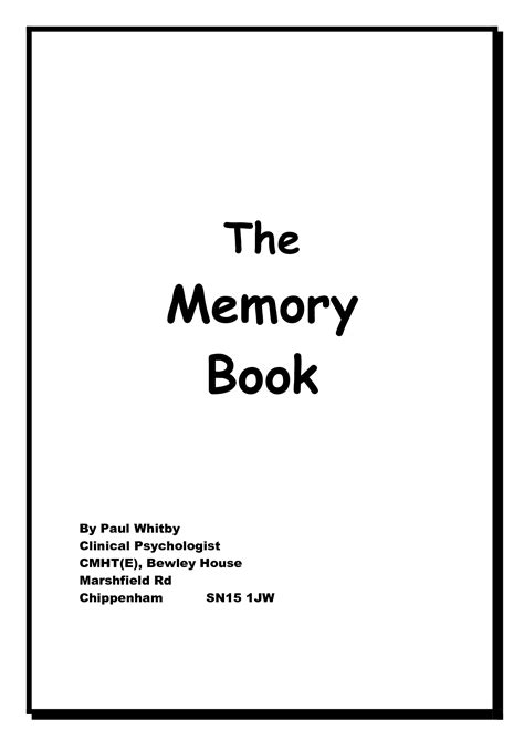 Dementia Memory Books Printable Templates Pictures To Pin On Pinterest Pinsdaddy Memory Book For Dementia Template