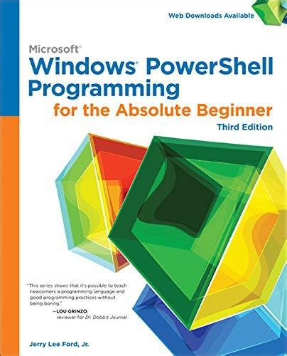 powershell your powershell and arduino guidebook books isbn 9781305260344 windows powershell programming for