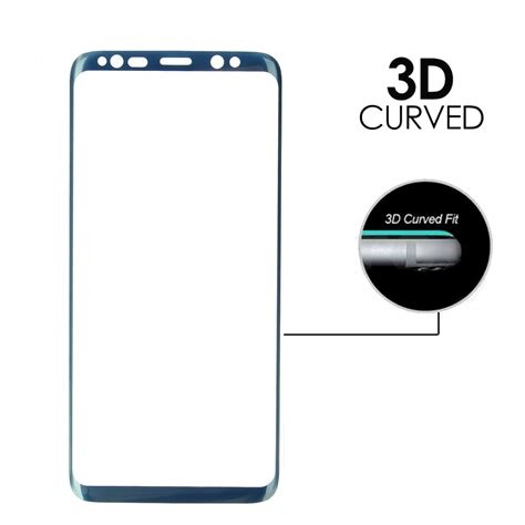 Tempered Glass Myuser 0 25mm Samsung S8 S8 Plus 3d soft curved edge screen coverage tempered glass screen protector for samsung galaxy s8