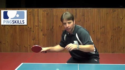 table tennis lessons table tennis forehand counterhit lesson