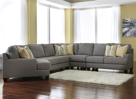 kaspar sectional sofa new kaspar slate grey fabric modern sectional sofa