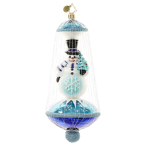 christopher radko glass ornaments quot snowmen quot