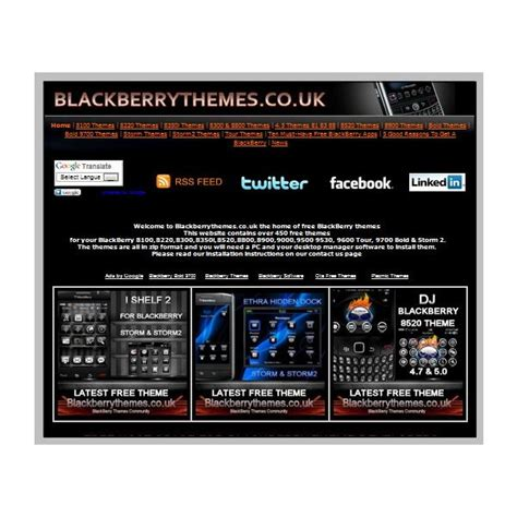 themes bb pearl where to download free blackberry pearl themes