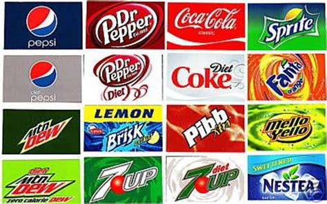 Labels For Pepsi Soda Machines 16 Small Adhesive Soda Flavor Label Vending Sticker Set House Soda Labels Template