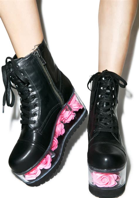 platform boots y r u g i platform boots dolls kill
