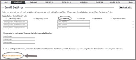 creating an html email template step 5 creating estimate email template the customer