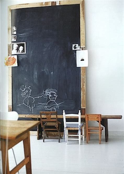 blackboard walls and chalkboards for room to bloom