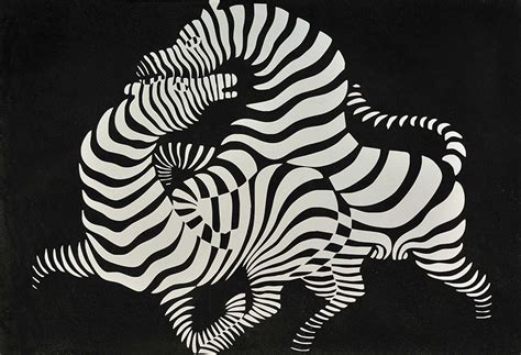 Zebra Pattern Nedir | biography of victor vasarely widewalls