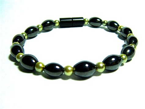 magnetic therapy jewelry triples multi colors bracelets 6