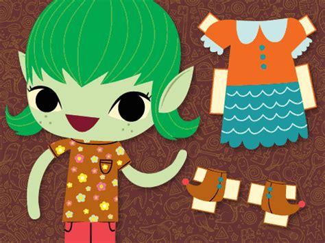 printable brownie elf girl scouts for girls 187 print play brownie elf paper doll